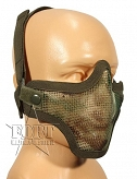 Maska ASG - Airsoft Metal Mesh Mask - multicam