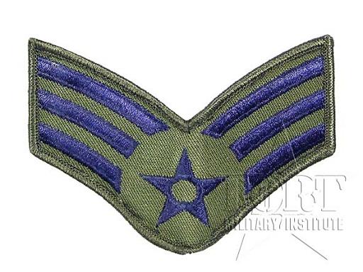 Naszywka Senior Airman (SrA) USAF, naszywki, stopnie, US