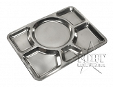 Tacka obiadowa - Stainless Steel Plate