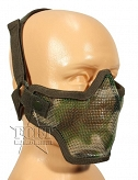 Maska ASG - Airsoft Metal Mesh Mask - woodland