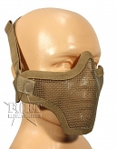 Maska ASG - Airsoft Metal Mesh Mask - coyote